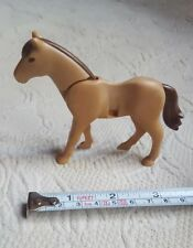 Playmobil Animal Figure Farm tan color Pony Horse pre-owned kids play toy used