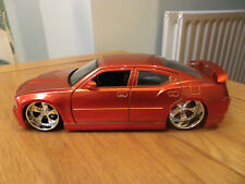 Jada Toys 2006 Dodge Charger SRT8 1/24 Scale