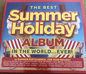 Various Artists : The Best Summer Holiday Album in the World... Ever! 3cd New