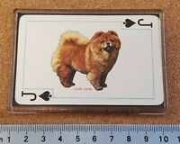 Fridge Magnet (FB6) Playing Card Dogs Of The World - Various Breeds