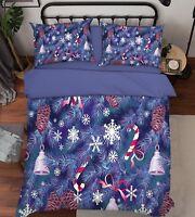 3D Christmas Xmas 552 Bed Pillowcases Quilt Duvet Cover Set Single Queen King AU