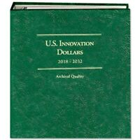 Littleton Coin Album 2018-2032 US Innovation Dollars P & D LCA82 Quality Storage