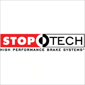 Stop Tech 977.40002F Sport Axle Pack Slotted Rotor Brake Kit For 00-05 S2000 NEW