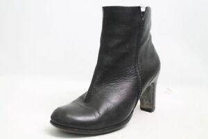 Choizz Stiefeletten schwarz Leder Gr. 38 (UK 5)