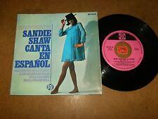 SANDIE SHAW CANTA EN ESPANOL  - EP SPAIN PYE 337-35 / LISTEN - GIRL POPCORN
