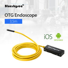 OTG Endoscope Inspection Camera 5.5mm 3.5M 2MP IP67 For IOS Android Smartphone