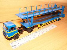UNIC MZ36 TCA 1:43 TRUCK & TRAILER CAMION 1960 ALTAYA IXO CAR TRANSPORT