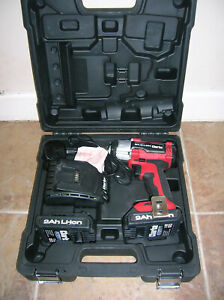 """Clarke Brushless, Lithium-Ion 18v 1/2"""" Drive 2Ah Cordless Impact Wrench."""