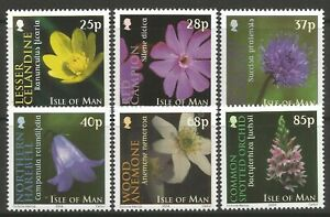 STAMPS-ISLE OF MAN. 2004. Royal Horticultural Society Set. SG:1140/45. MNH