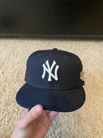 New York Yankees 1996 World Series New Era 59Fifty MLB Navy Fitted Hat Cap 7 1/8