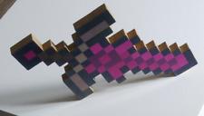 Wooden Minecraft inspired Gravitite sword