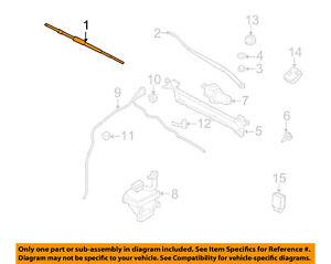 FORD OEM Wiper Washer-Windshield-Blade Right GU2Z17V528M