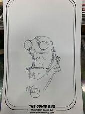 Original HELLBOY Comic Art Sketch by MIKE MIGNOLA