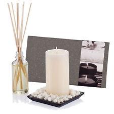 Vela & Set de Difusor Caja Navidad Aroma Fragancia Aromaterapia Aniversario