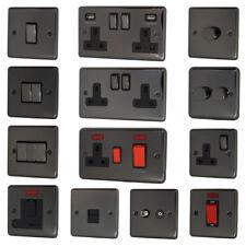 Black Nickel Light Switches & Plug Sockets