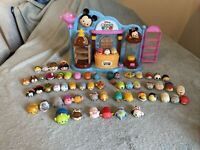 Disney Tsum Tsum Playset With 60 Different Tsum Tsum Figures. Cinderella, Frozen