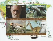 Madagascar 7721 - 2018  CHARLES DARWIN  perf sheet of 4 unmounted mint