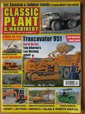 Classic Plant & Machinery December 2017 Traxcavator 951 Demag HC 920 Pel Job