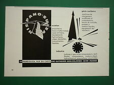 1963-64 PUB HISPANO-SUIZA BOIS-COLOMBES AVIATION INDUSTRIE NUCLEAIRE CIGOGNE AD
