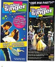 the Wedding Singer ad/flyer Broadway NYC Stephen Lynch RARE
