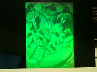 "Amazing Polaroid 3-D image *** Marvel Avengers *** a 5"" x 7"" clear-cel Hologram"