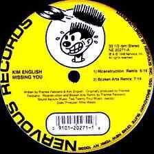 "12"" - Kim English - Jumpin' And Bumpin' (HOUSE) NUEVO - NEW, STOCK STORE LISTEN"