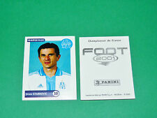 PANINI FOOT 2001 FRANCE FOOTBALL 2000-2001 J. STANKOVIC OLYMPIQUE MARSEILLE OM
