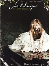 Avril Lavigne Goodbye Lullaby Learn to Play Piano Vocal & Guitar Music Book