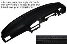 BLACK Stitch DASH Dashboard Leather COVER ADATTA PER TOYOTA HILUX 4 Runner 89-95