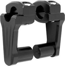"Rox Speed FX - 3"" Pivoting Bar Risers for 1"" Handlebar (Black) 4R-P3CC01"