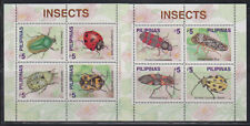 Philippine Stamps 2000 Insects 2 Souvenir Sheets Mint Never hinged