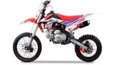 Pitbike moto enduro 160cc ruote 17/14 carburatore maggiorato MIKUNI 24mm CROSS