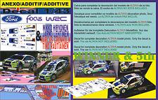 ANEXO DECAL 1/43 FORD FOCUS HIRVONEN & GRONHOLM R.AUSTRALIA 2006 1st  & 5th (02)
