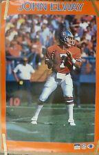 RARE JOHN ELWAY BRONCOS 1987 VINTAGE ORIGINAL NFL STARLINE POSTER