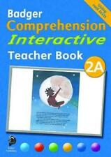 Badger Comprehension Interactive KS1: Teacher Book 2A by Cooper, Ruth, Cooper, A