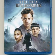 Star Trek Into Darkness 2013 PG-13 sci-fi movie, new Blu-ray, NO DVD Cumberbatch