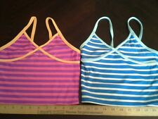 Girls tank top swimwear seperates lot of 2 size S new Old Navy