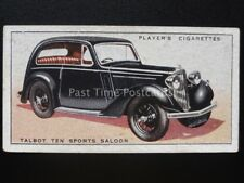 No.45 TALBOT TEN SPORTS SALOON - Motor Cars, A Series - John Player 1936
