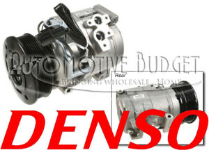 A/C Compressor w/Clutch for Mitsubishi Montero 2001-2006 - NEW OEM