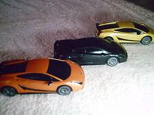 ferngesteuertes RC Auto Lamborghini m.Lizenz - 1:24 * gelb * 27,3 MHz