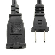 0.5M/1.6ft 10A AC US Plug Converter Power 2 Pin AC Male-US Extension Core Cable