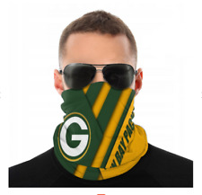 Green Bay Packers LOGO NFL Face Mask Covering Scarf