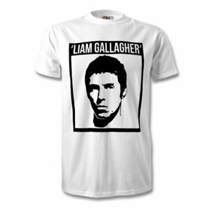 liam gallagher t shirt  oasis band t shirt fruit of loom kids adults sizes