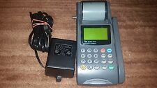 Lipman Nurit 3010 Portable Payment Solution Credit Card Machine Vg Cond W Cables