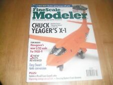 FINE SCALE MODELER OCTOBER 2003 CHUCK YEAGER`S X-1
