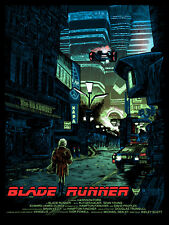 "Blade Runner ""We Scared..."" EXCLUSIVE Movie Poster Tim Doyle S/N /200 NT Mondo"