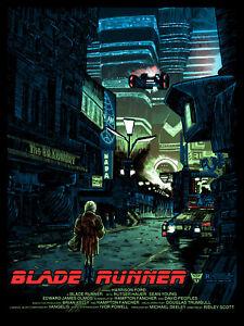 "Blade Runner ""We Scared.."" Alternative Movie Poster Tim Doyle Signed AP NT Mondo"