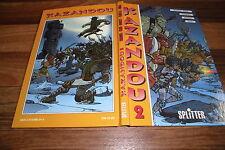 KAZANDOU  HC  #  2  mit EURO MANGA # 9+10+11+12 /Splitter Verlag 1. Auflage 1997