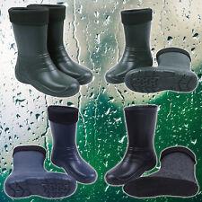 Women's Ladies Insulated Winter Wellington Boots Ultralight EVA Wellies