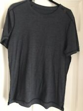Lululemon Mens Dark Gray Shirt Size S